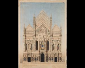 Archimede Sacchi, proposta per la facciata del Duomo di Firenze, 1861