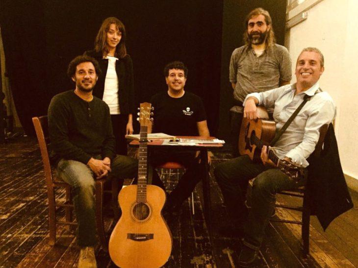 Da Sn – Davide Loi, Elena De Carolis, Marco Pellizzon, Enrico Pompeo e Gabriele Lessi