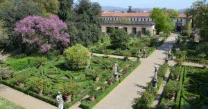 2 Giardino Corsini dall'alto