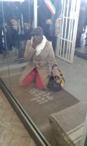 Ndileka Mandela foto di Silvia Gloria Silvetti