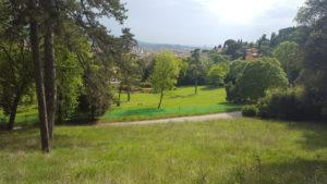 3 – Parco di Villa il Ventaglio – Panorama dai viali