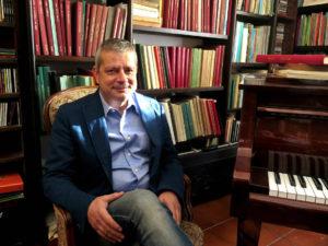Il direttore artistico Stefano Garau