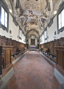 Interno Oratorio della Compagnia di San Niccolò detta del Ceppo