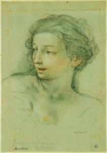 Pietro da Cortona, Busto di giovane donna per 'L'Età dell'Argento'