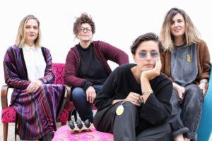 Uovo alla Pop_Da sx_Valeria Aretusi, Viola Barbara, Libera Capezzone, Giulia Bernini (1024×683)