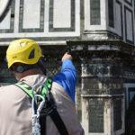 monitoraggio delle facciate esterne dei monumenti del Duomo di Firenze