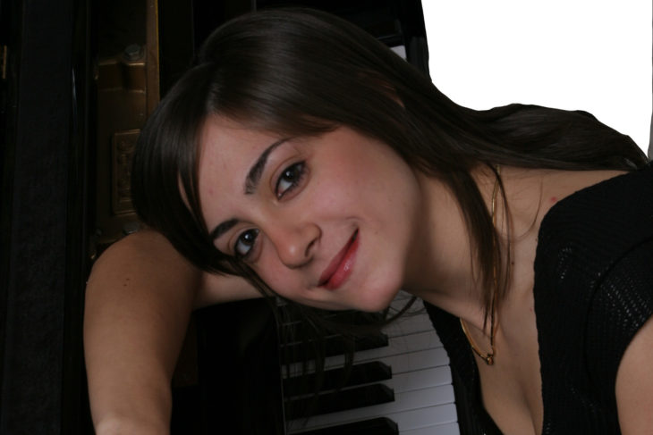 Clelia Cafiero al piano or