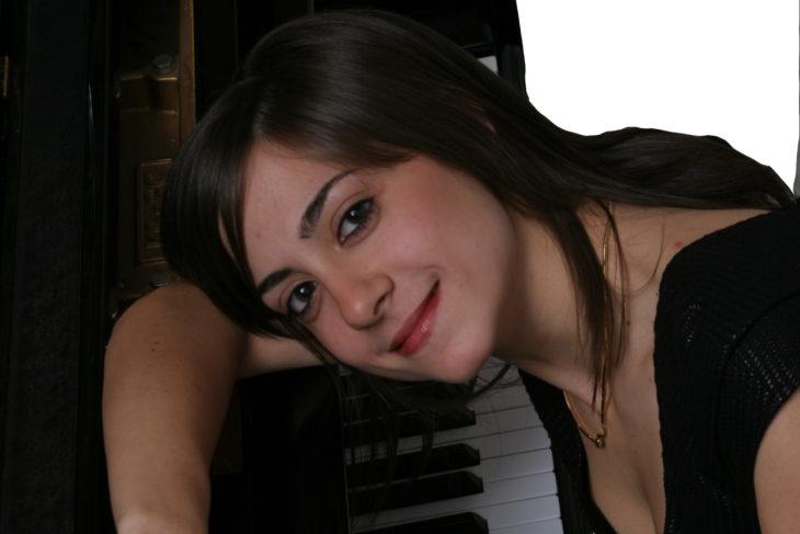 Clelia Cafiero al piano or