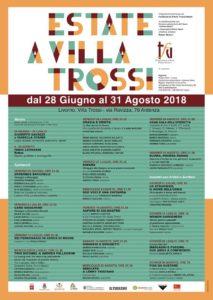 Programma estate a Villa Trossi