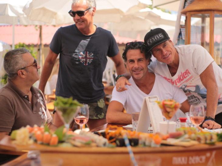 da sin Massimo Giletti_Fabio Galante_Jimmy Ghione al Nikki Beach Versilia