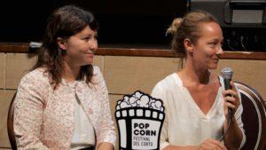 Alice Coiro e Francesca Castriconi_conferenza stampa