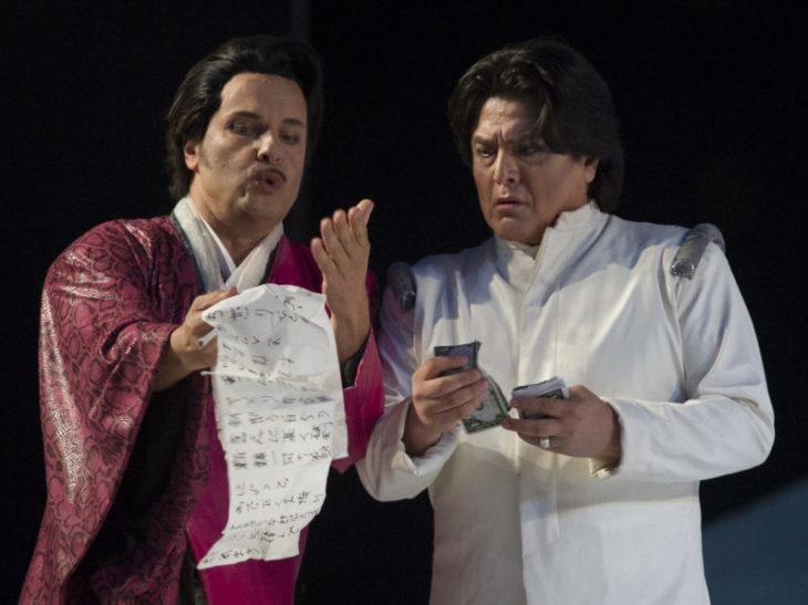 Marco Voleri Goro e Pinkerton Mendoza Lopez