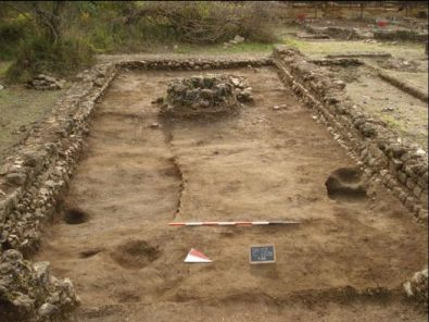 area archeologica vada