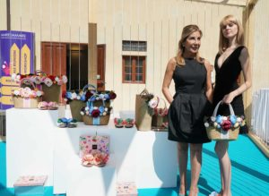da sinistra Emanuela Biffoli e la nuova Capsule Collection E.Biffoli