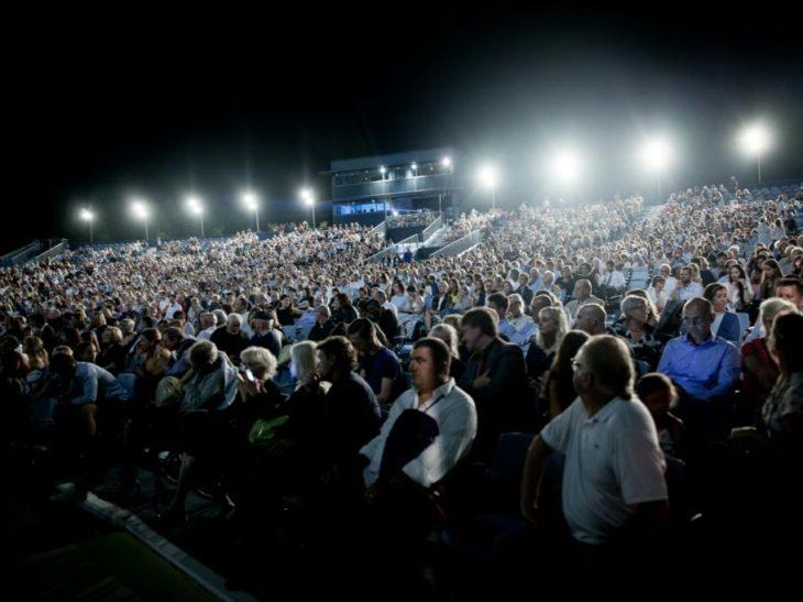 Il Gran Teatro Giacomo Puccini- Una serata del Festival Puccini 2018- foto di Lorenzo Montanelli