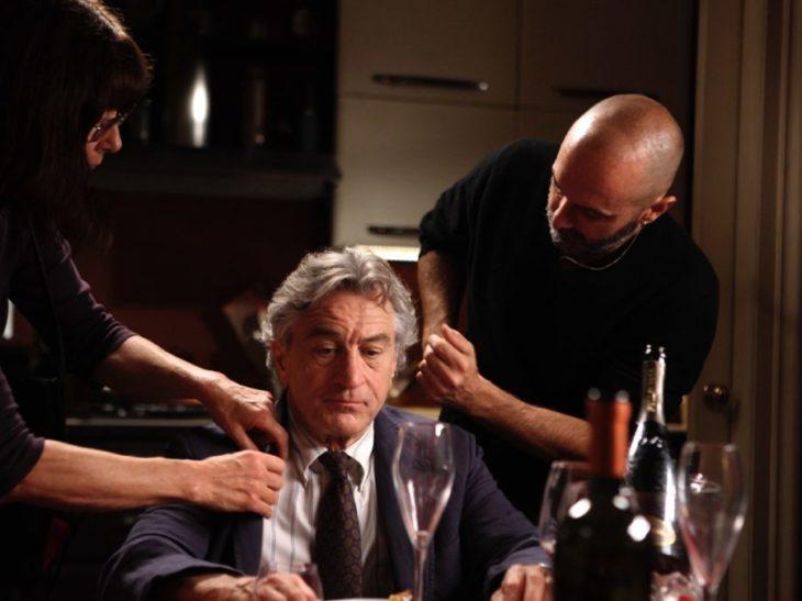 Paola e Massimo Gattabrusi con Robert De Niro