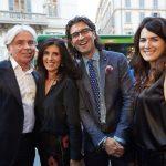 Ivan Zazzaroni, Monica Gasparini, Cristian e Giulia Cappozzo