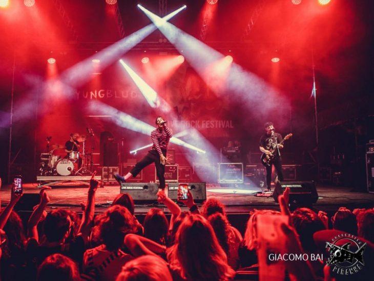 Yungblud sul palco di Live Rock Festival 2018_Foto di Giacomo Bai