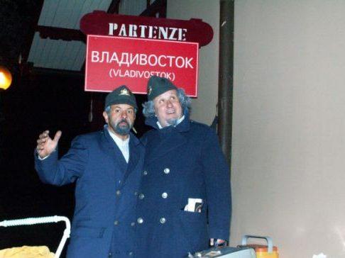 vagoni vaganti Livorno