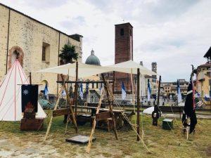 Foto accampamento militare Rocca