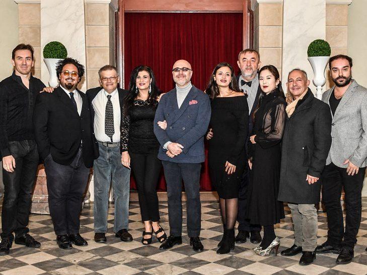 Il cast de L_elisir d_amore al Teatro Goldoni 23Ott2018_Foto di A_Bizzi