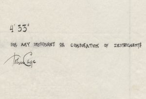 "John-Cage-4'33"""