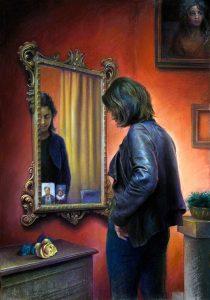 Claudio Sacchi Allo-specchio-70 bassa