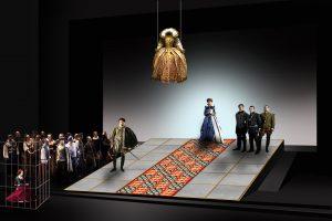 Donizetti Opera 2018_Il castello di Kenilworth_Bozzetto Castello regina