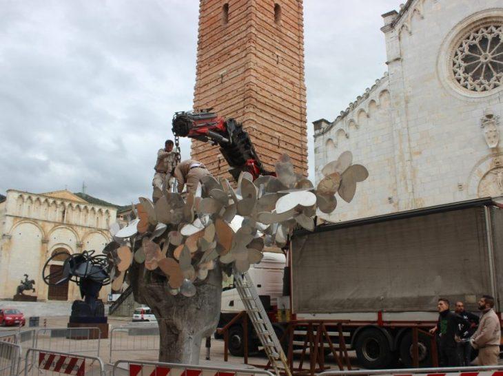 Foto Valdes saluta Pietrasanta 2