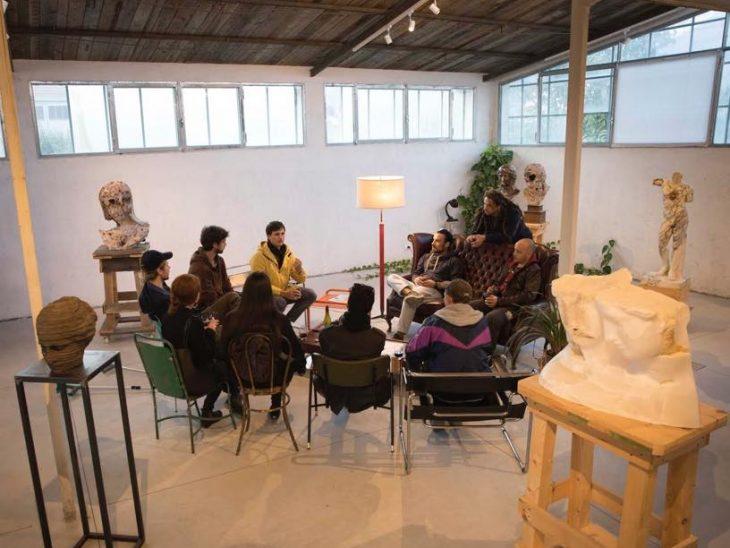 Foto un momento workshop Cav