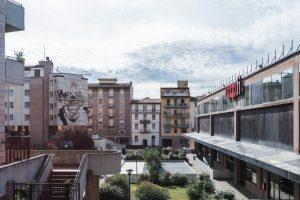 Murale Il condominio dei diritti fase preparatoria foto Francesco Niccolai ok