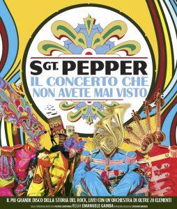 locandina sgt pepper