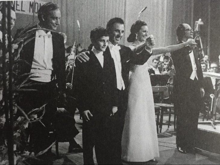 Concerto 14 settembre 1974 al Teatro del Giglio di Lucca