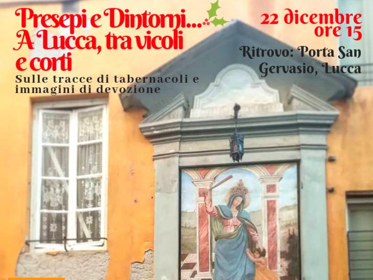 Presepi e Dintorni….A Lucca, tra vicoli e corti (2)