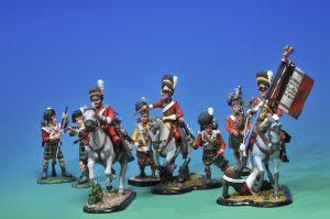 soldatini La carica degli Scots Grey