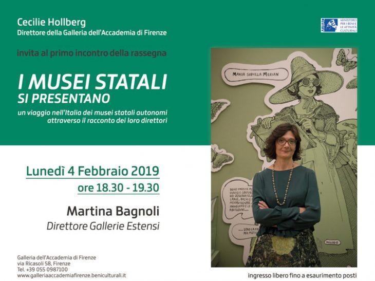 I Musei statali si presentano – invito Martina Bagnoli