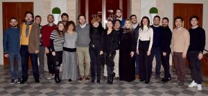 Il cast de La Boheme al Teatro Goldoni 10gen2019