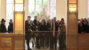 Il gruppo dell'Accademia Cappiello di Firenze