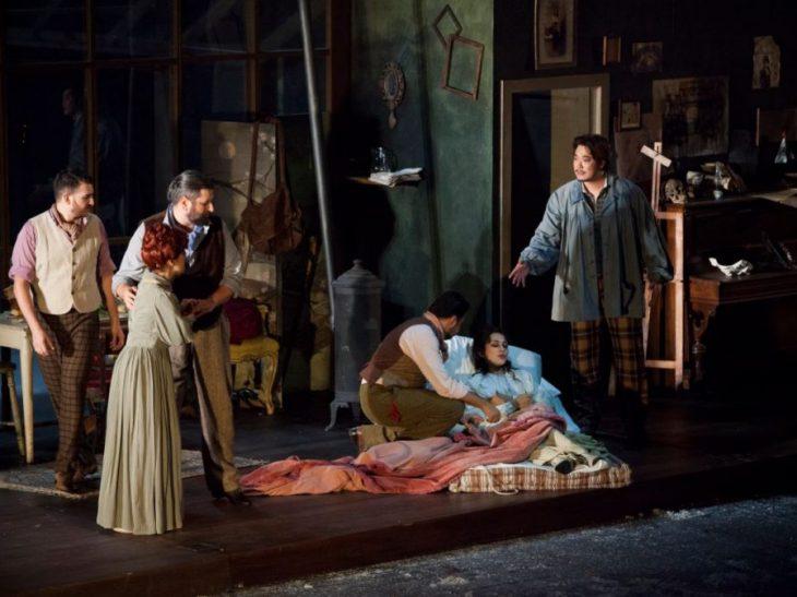La boheme, scena finale_Foto di Pietro Paolini_Fondazione Teatro del Maggio Musicale Fiorentino (g.c.)