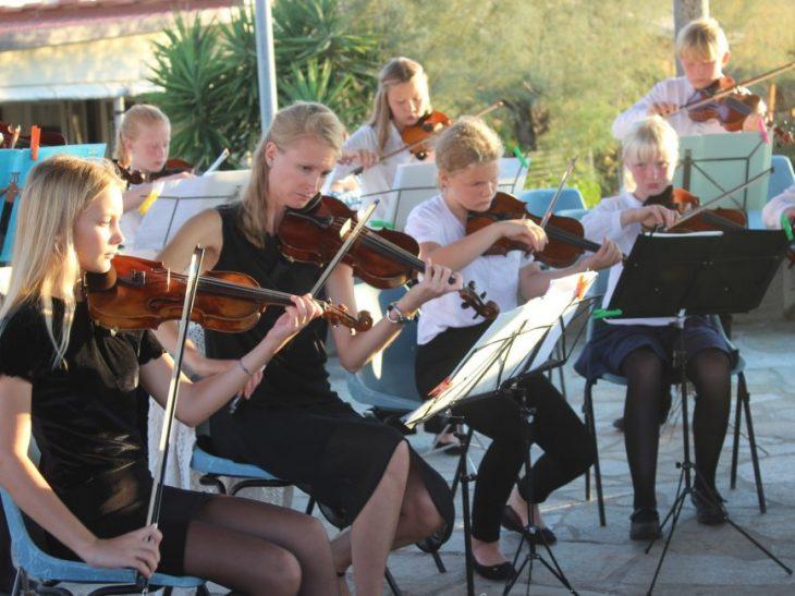 Foto concerto giovani orchestra Oslo a Tonfano