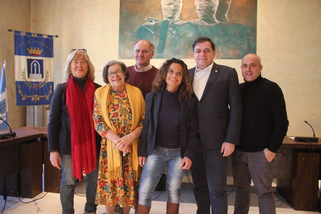 Foto presentazione premio sezione scuola Carducci