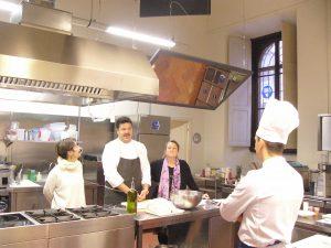 Saporito al Cordon Bleu con Cristina Blasi e Gabriella Mari