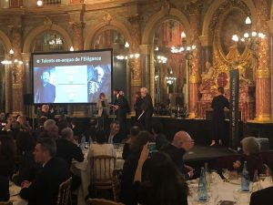 Tommaso Pestelli premiazione Parigi