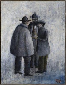 9_ROSAI_OTTONE-CONVERSAZIONE-1922-Collezione-Giuseppe-Iannaccone-Milano