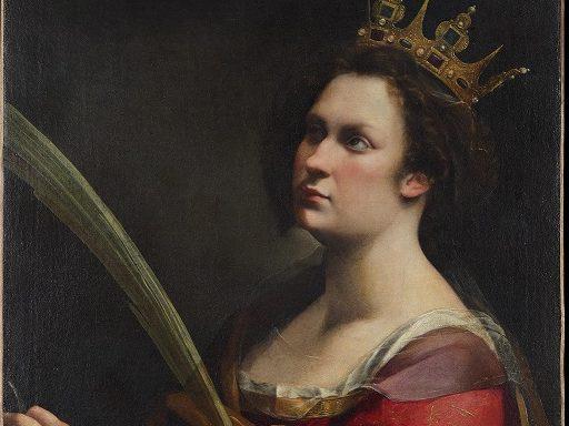 Artemisia Gentileschi_Santa Caterina_Luce Diffusa rid