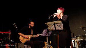 Gabriel Stohrer e Bettina Ferretti sul palco del Quaranthana