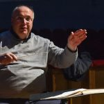 Le prove di Madama Butterfly al Goldoni_Il Direttore d_orchestra Stefano Romani_Foto Bizzi
