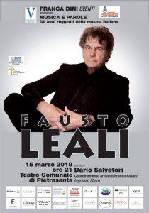 Locandina Fausto Leali