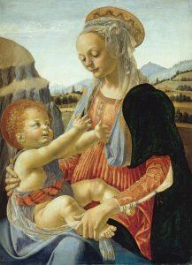 Madonna con il bambino- Verrocchio