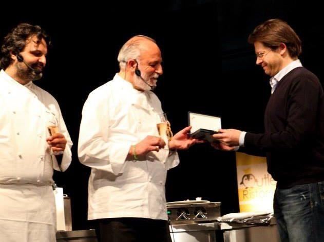 Zazzeri premiato da Franchi_Foodies 2014